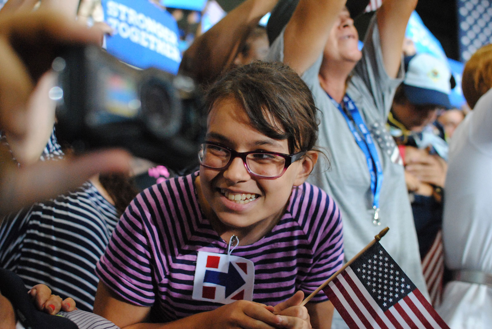 Stephen Cummings, Excited to see Hillary Clinton in Tampa, 2016